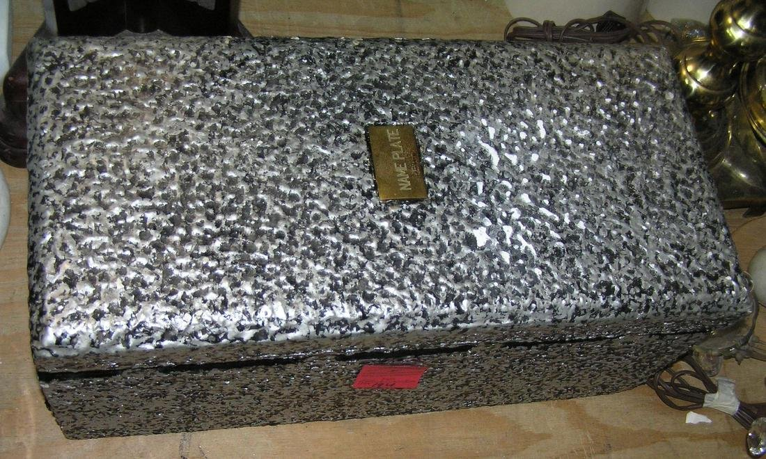 Salesman sample burial vault - 2