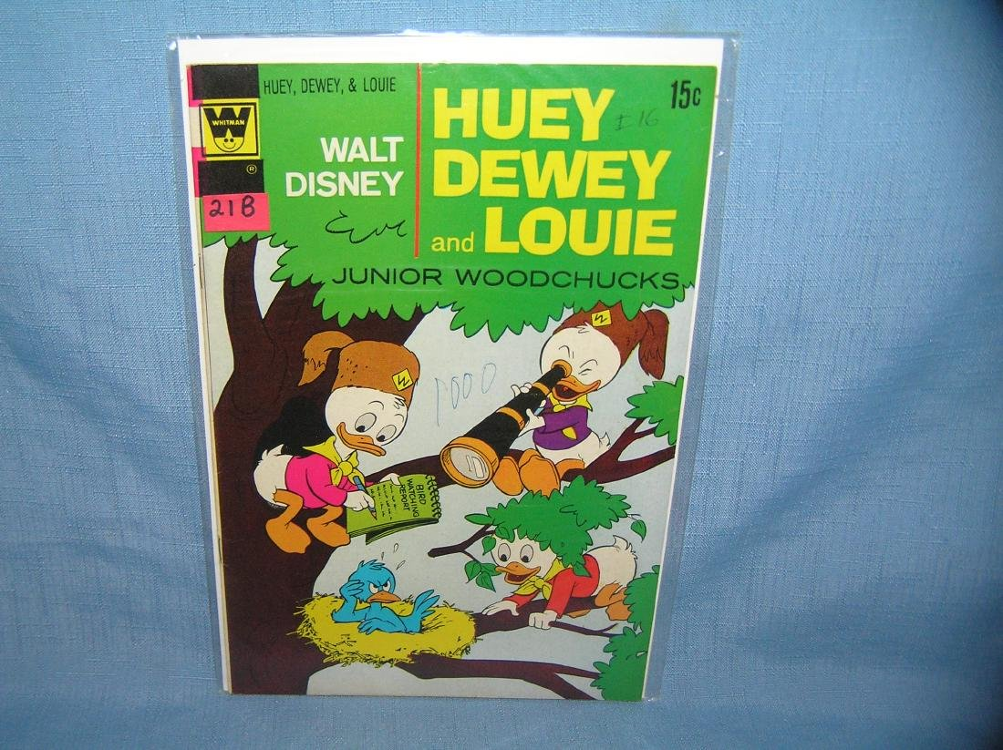 Early Disney Huey, Dewey and Louie comic book