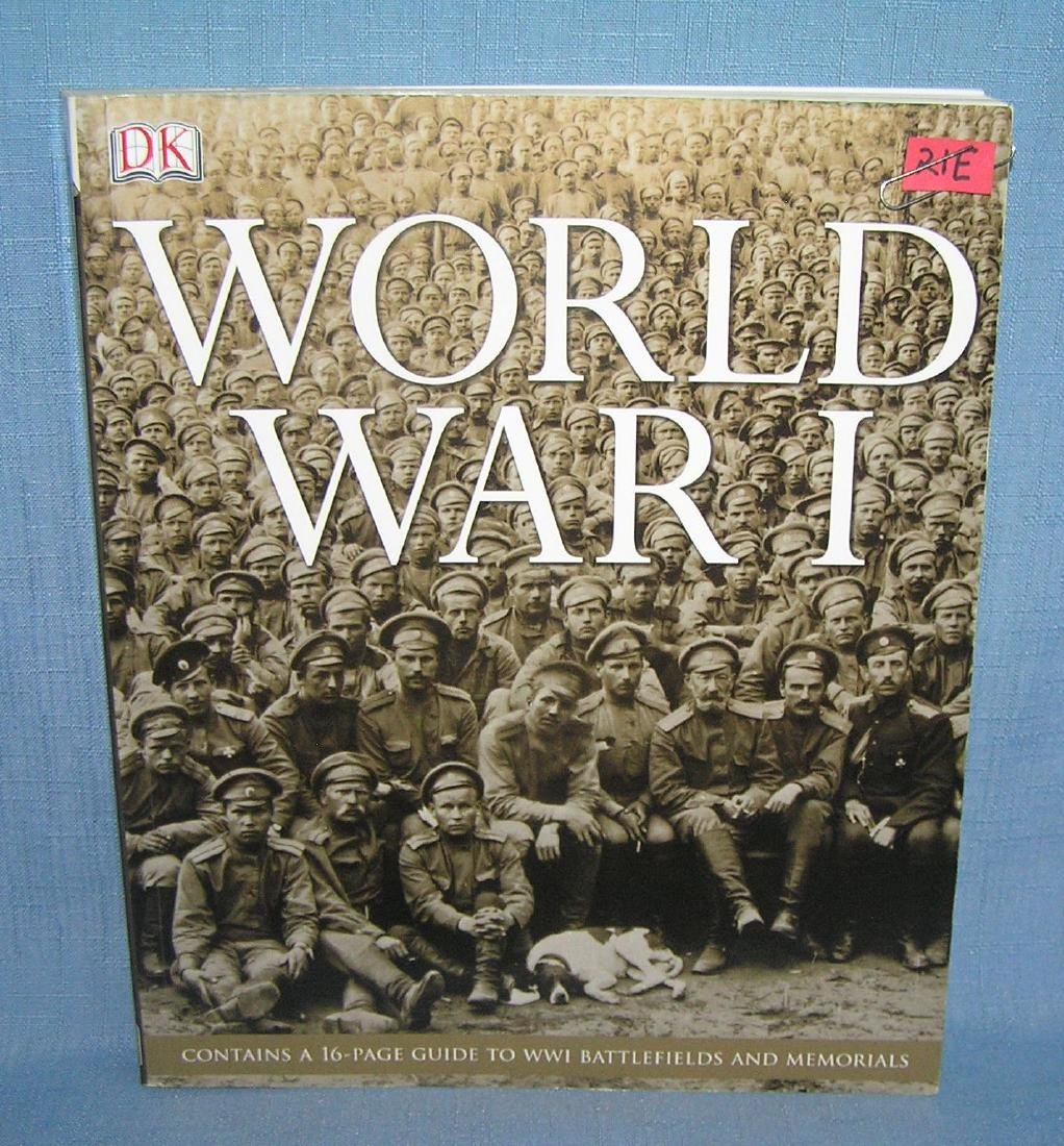 WWI large 335 page photographic history