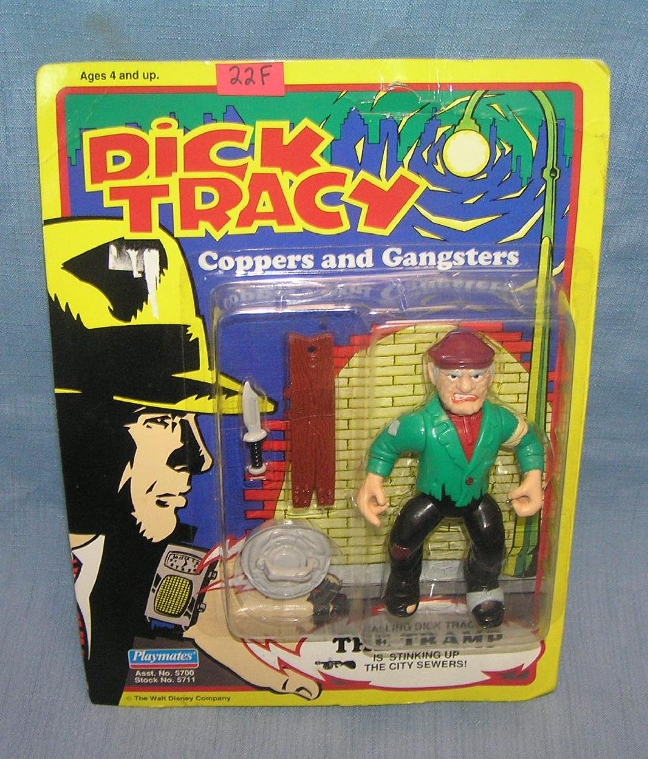 Dick Tracy's the Tramp action figure mint on card