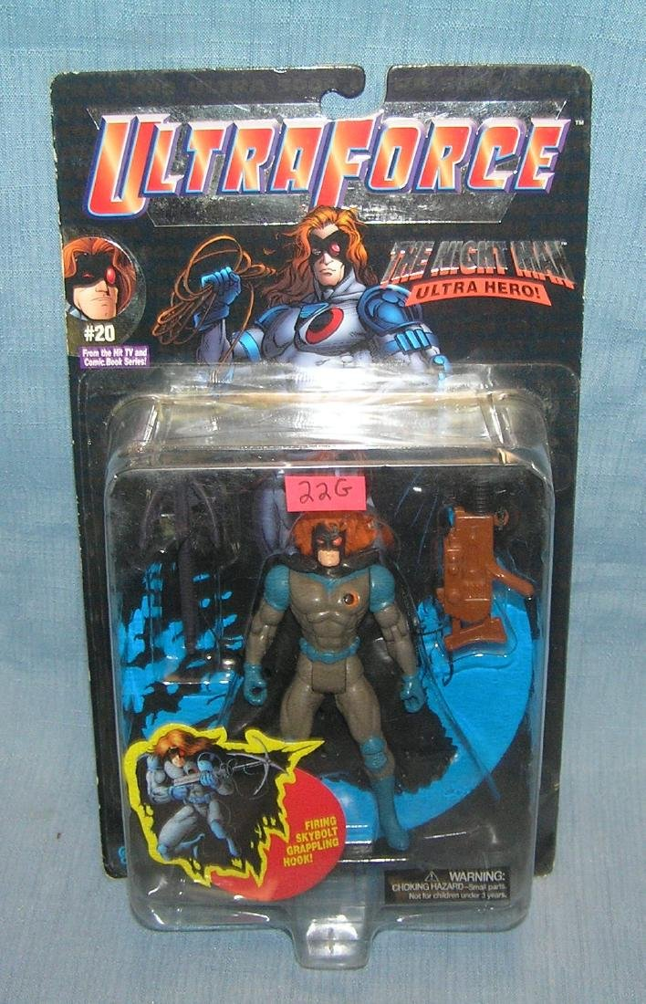 The Night Man Ultra Hero action figure