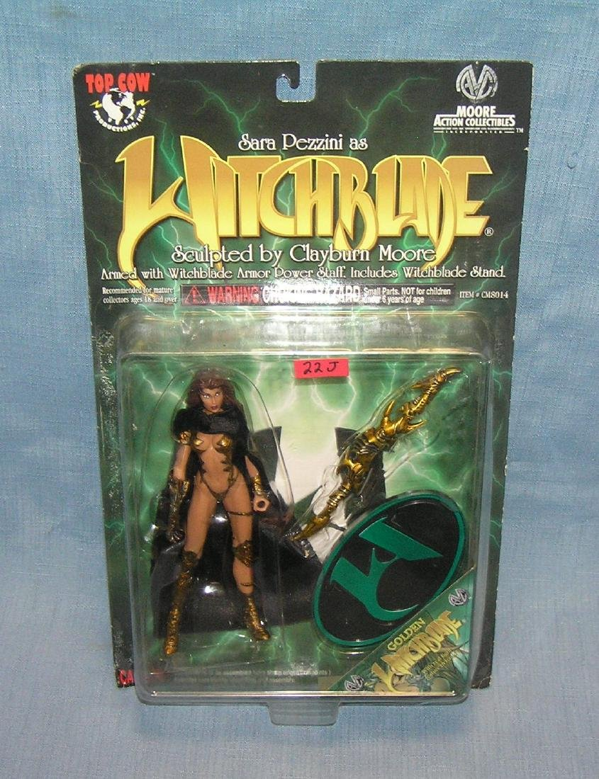 Witch Blade action figure mint on card