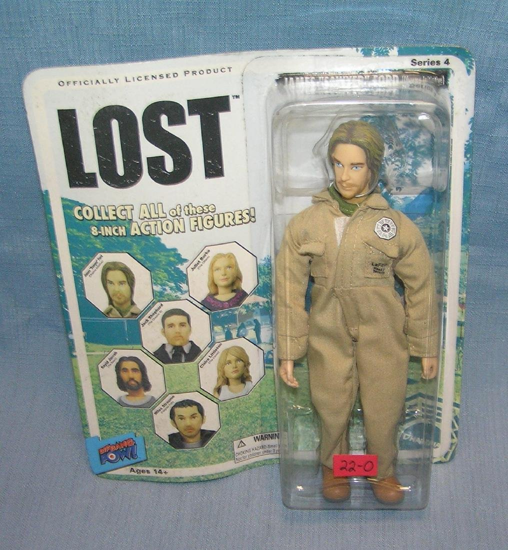 """LOST James """"Sawyer"""" Ford action figure"""