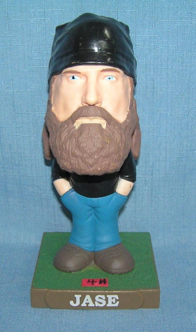 Jase of Duck Dynasty character bobble head figure