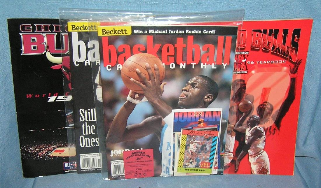 Michael Jordan and the Chicago Bulls collectibles
