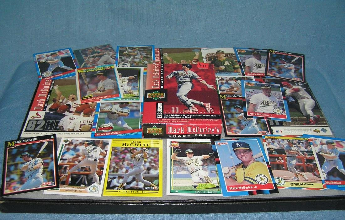 Mark McGwire all star baseball cards and more