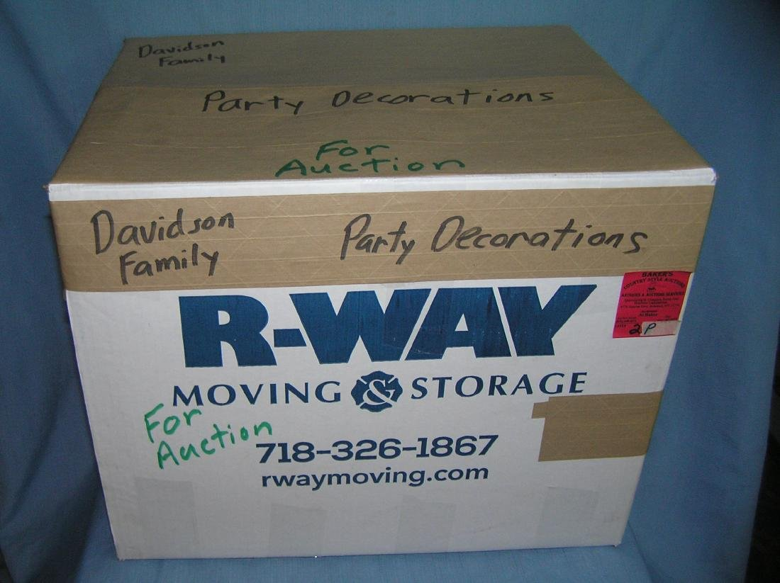 Moving and Storage Co. mystery box lot