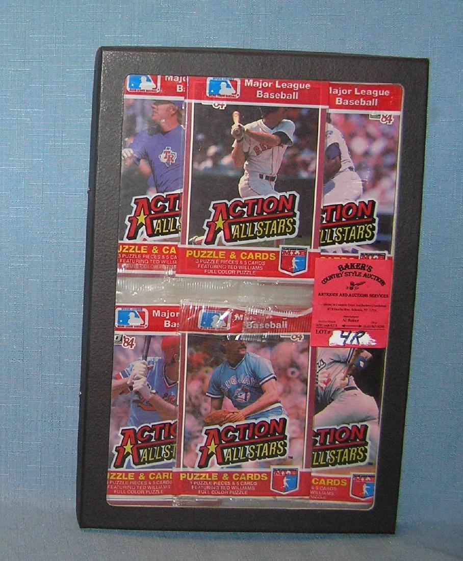 Group of unopened Baseball card packs