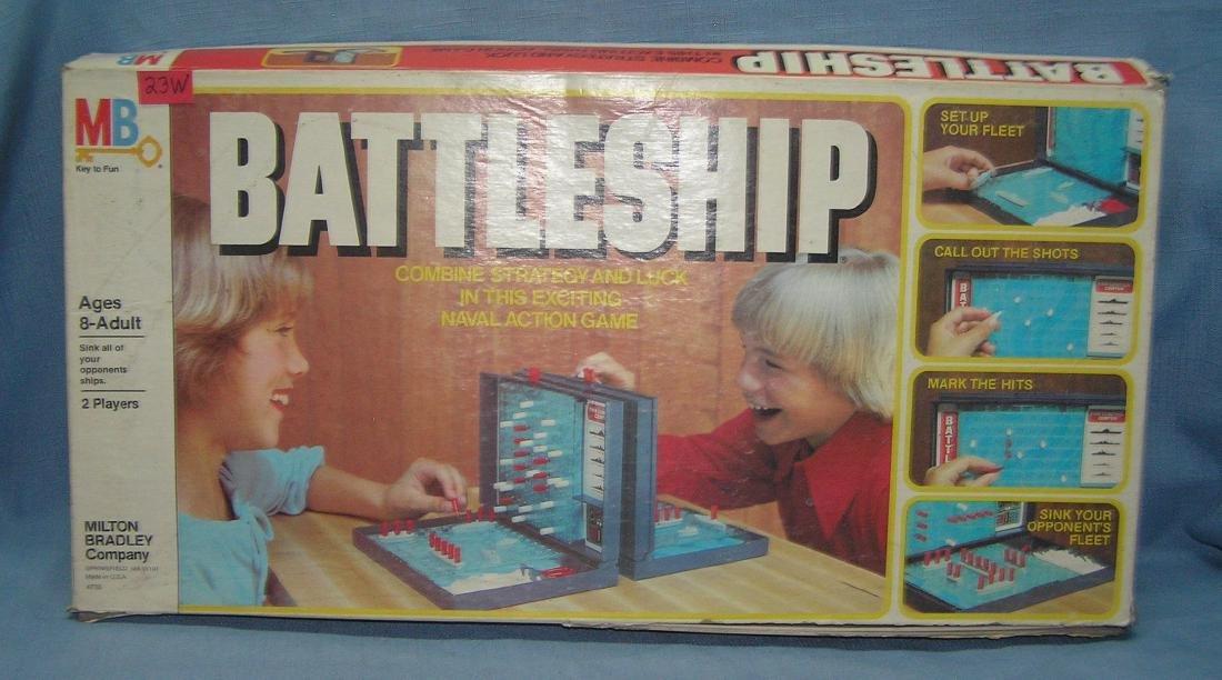 Battleship by Milton Bradley circa 1978