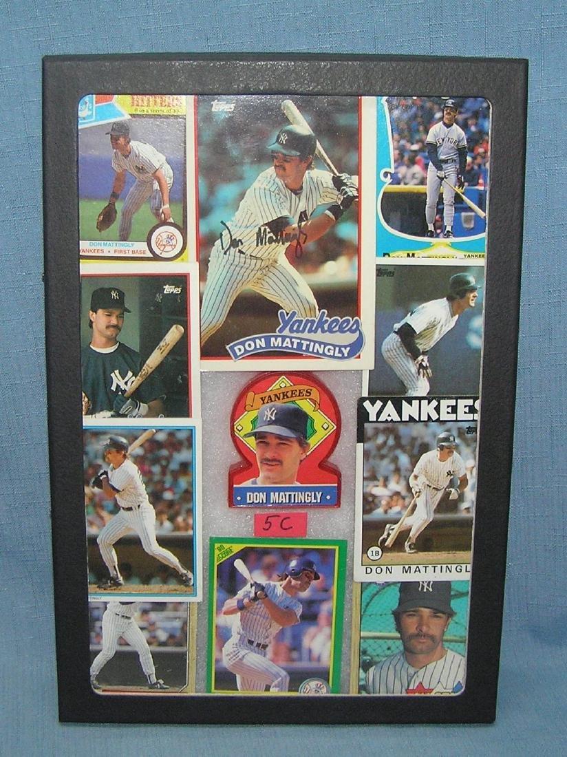 Don Mattingly baseball cards and collectibles
