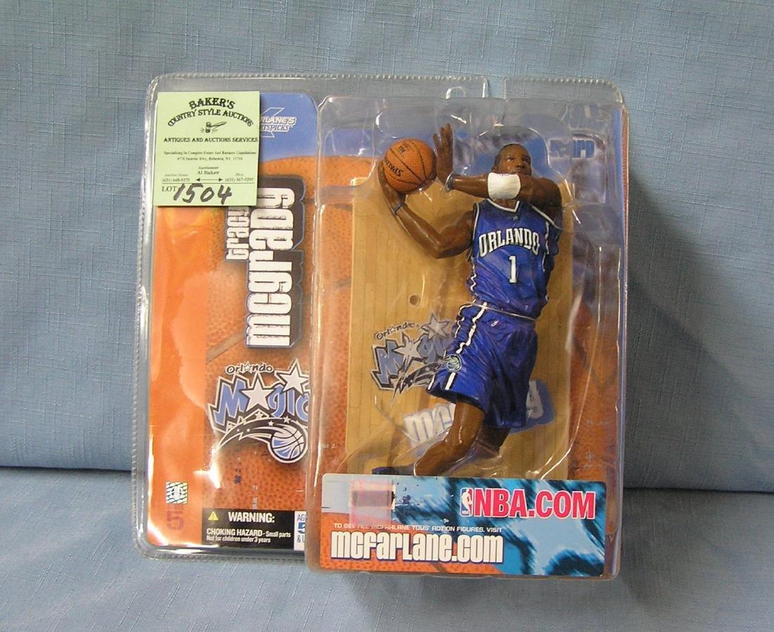 Tracy McGrady basketball action figure