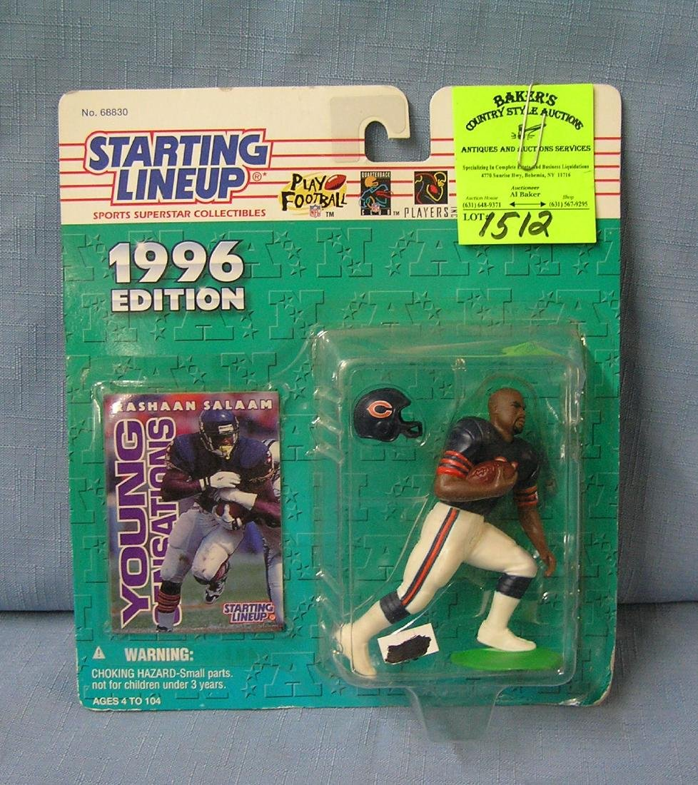 Vintage Rashad Salaam football action figure