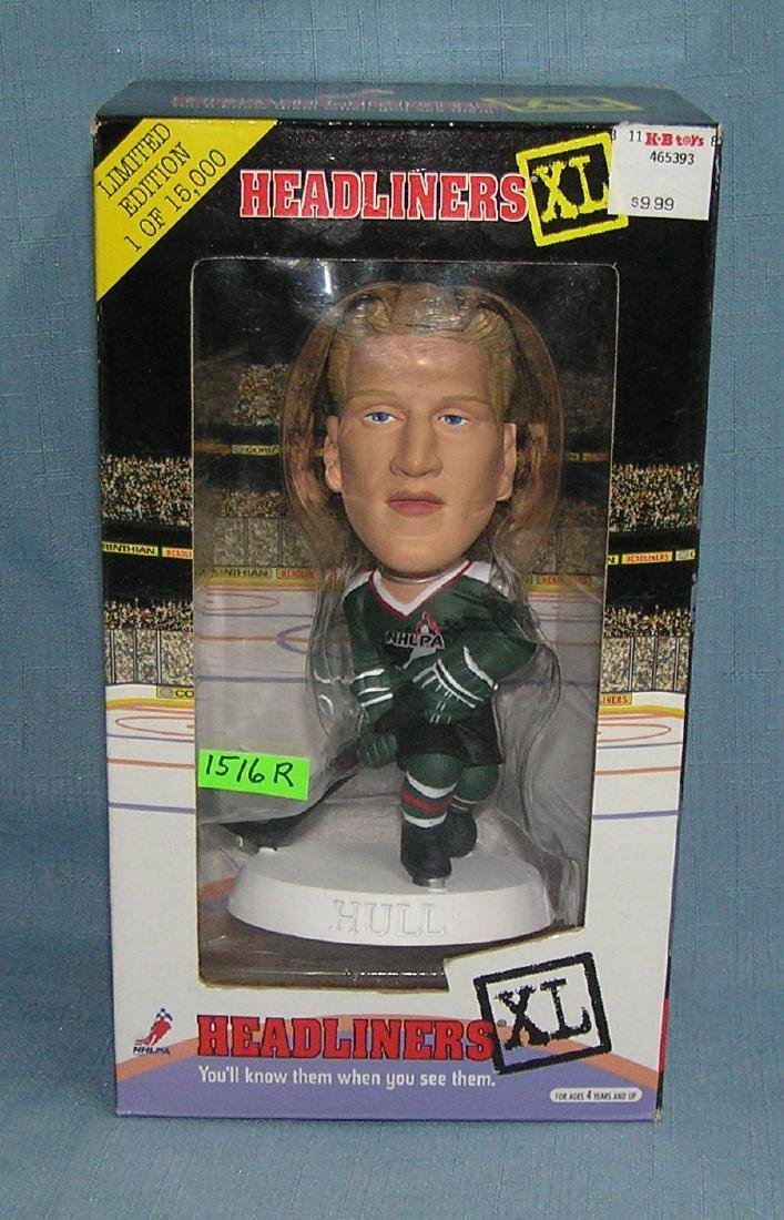 Brett Hull Hockey all star figure