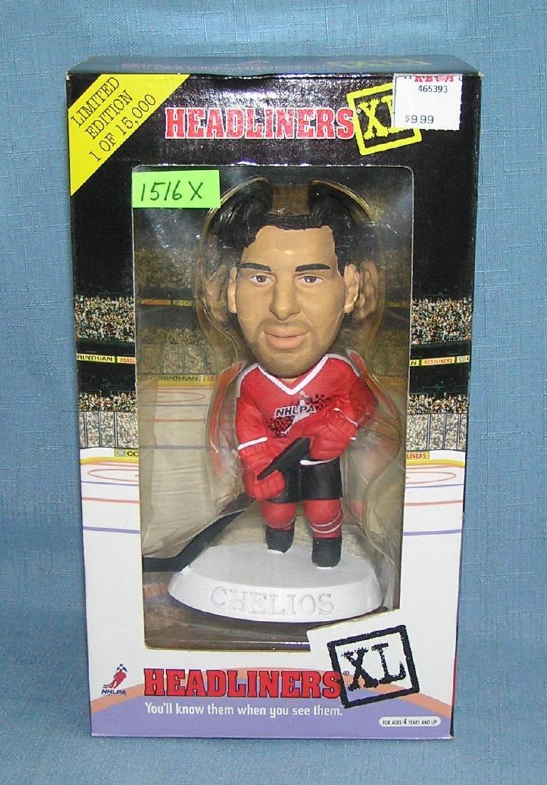 Chris Chelios Hockey all star figure