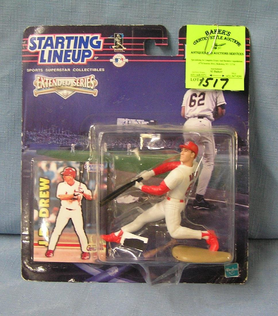 Vintage JD Drew baseball action figure