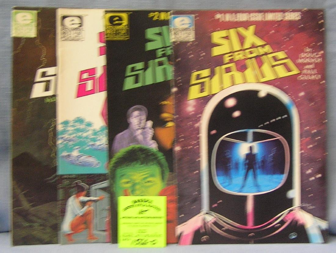 Six from Sirius 2 comic books