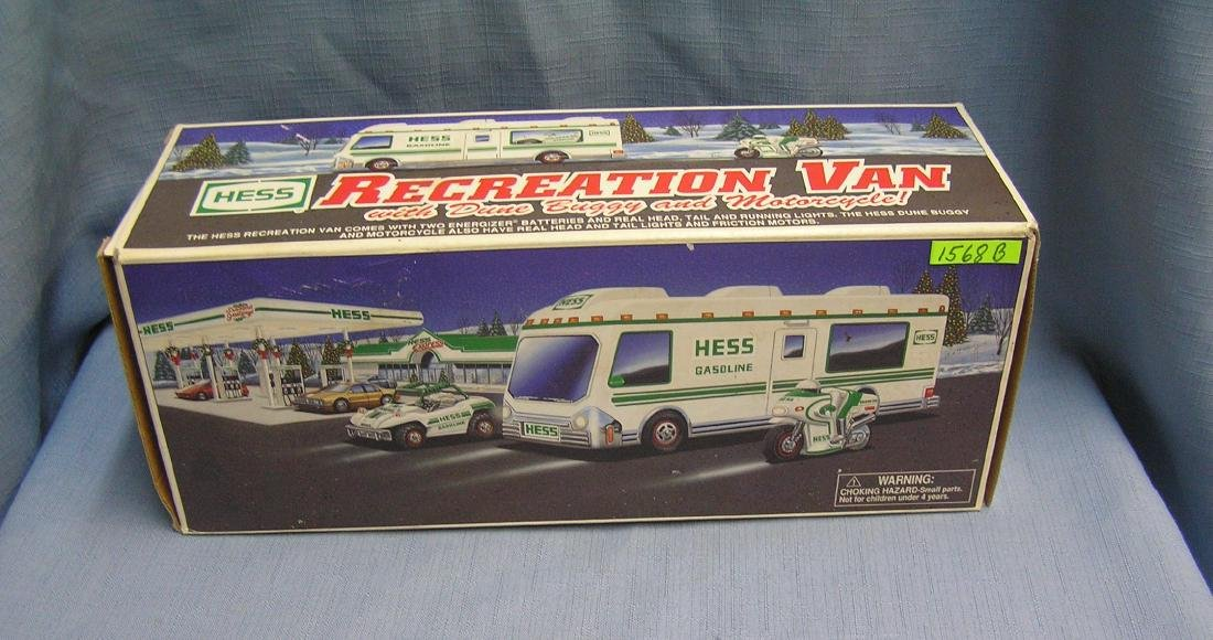 HESS recreation van w/ dune buggy & motor cycle