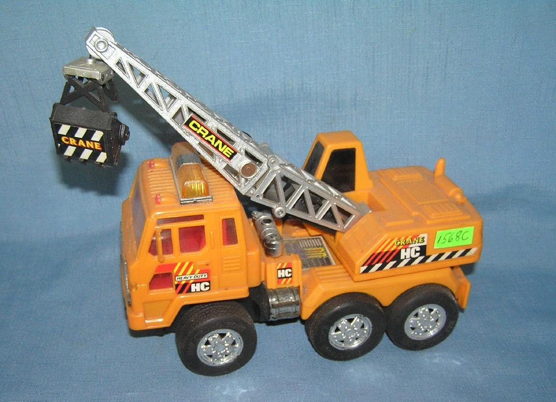 Hard plastic heavy duty crane toy