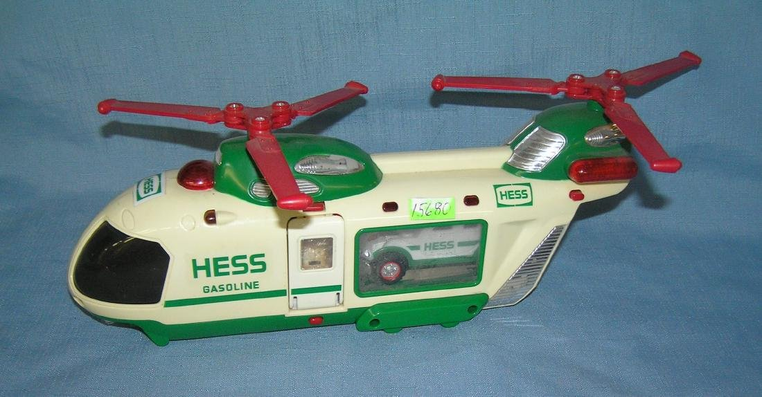 HESS heicopter and hummer vehicle and motorcycle
