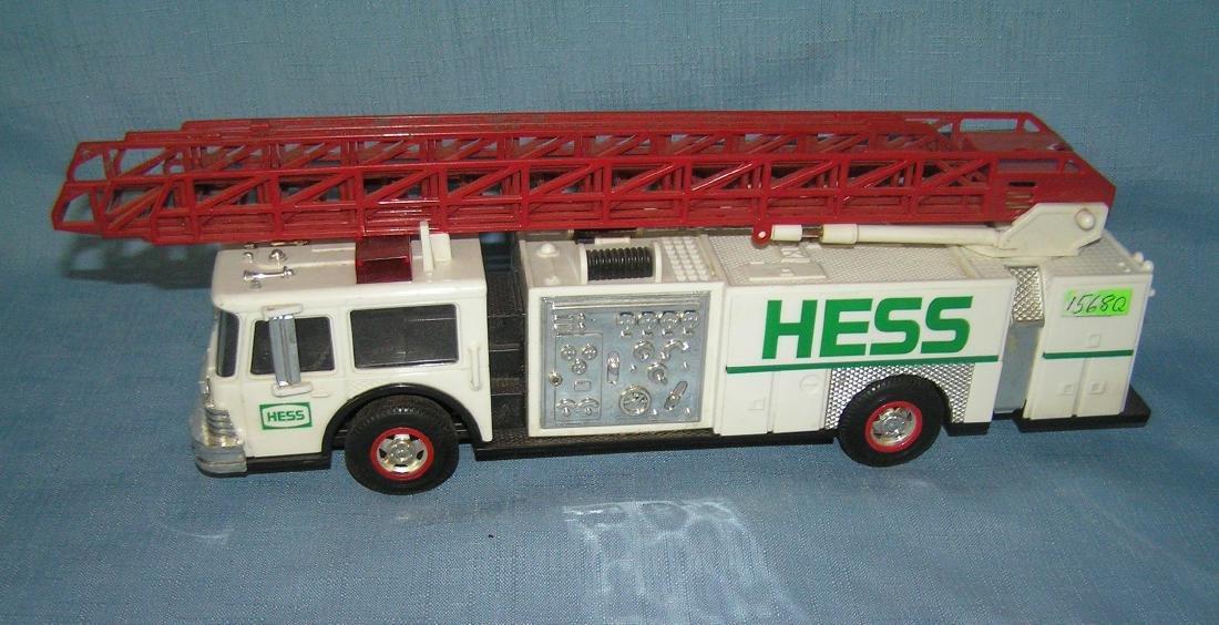 Vintage HESS fire ladder truck