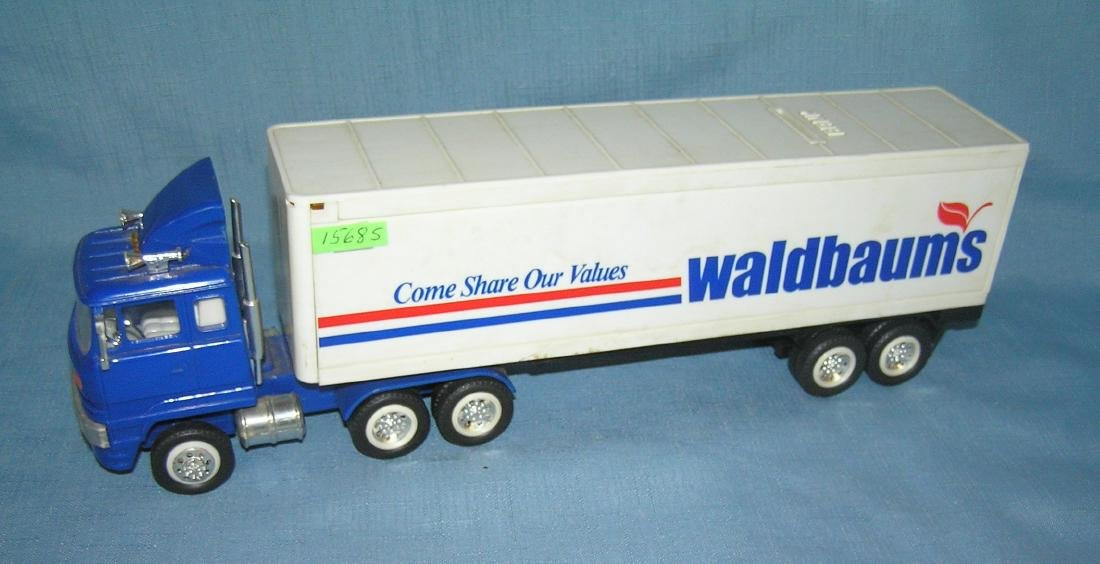 Vintage Waldbaums delivery truck bank