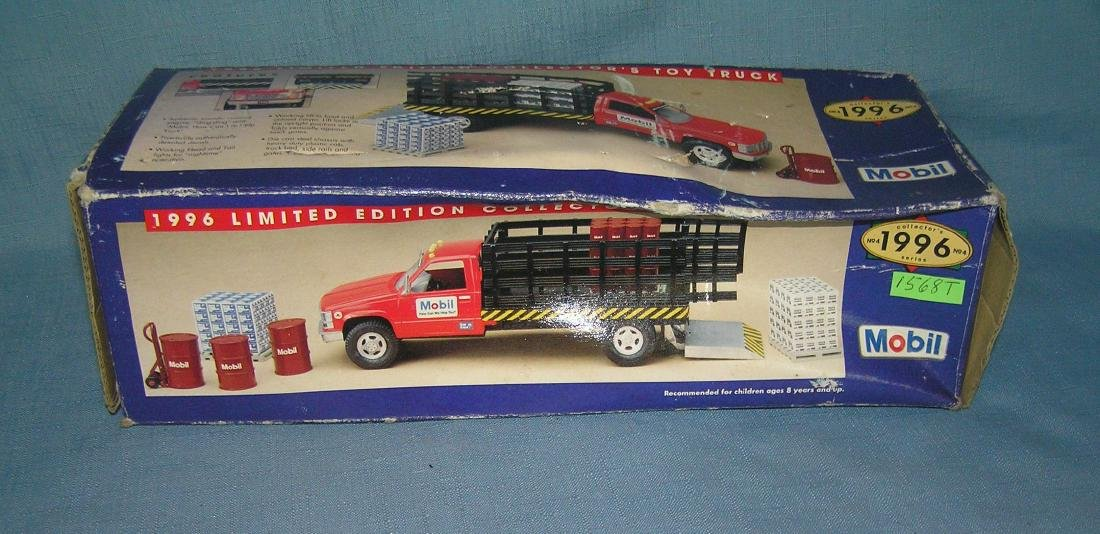 Vintage Oil delivery truck with accessories - 2