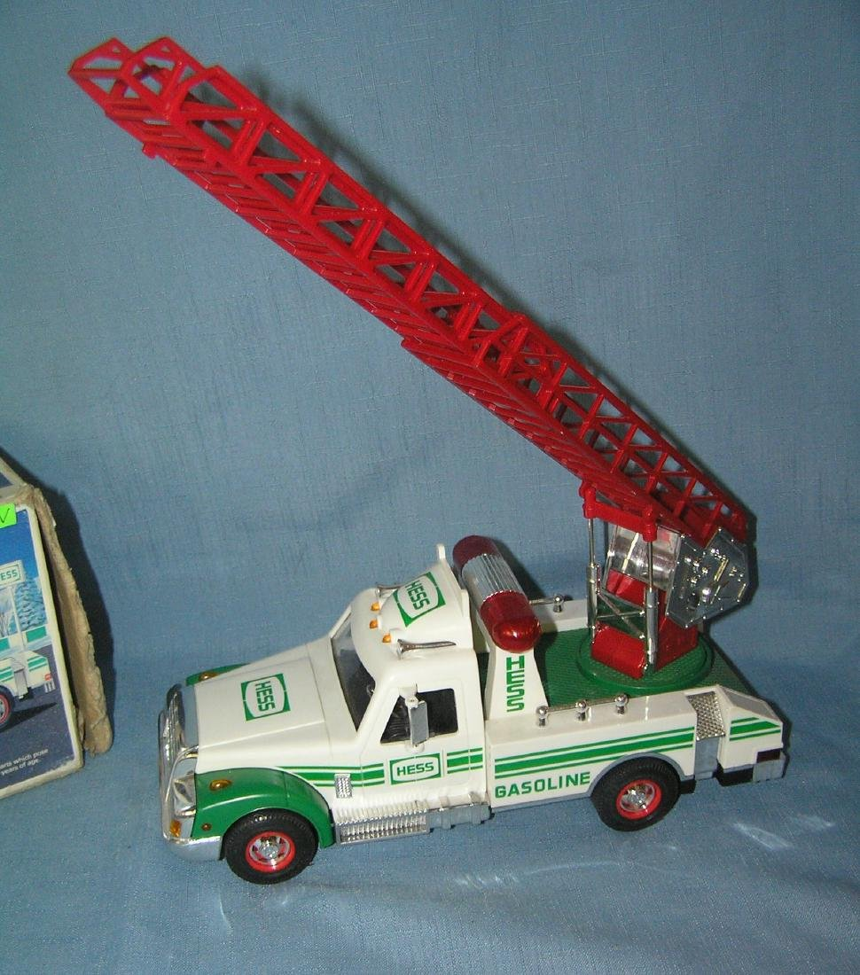 Vintage HESS rescue truck with original box - 2