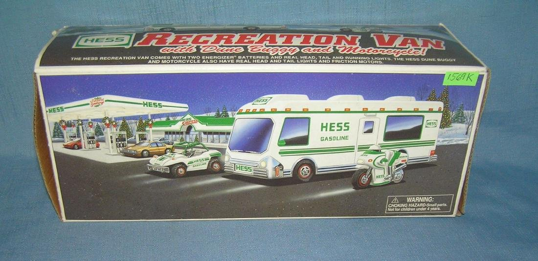 Vintage HESS gasoline Co. recreation van