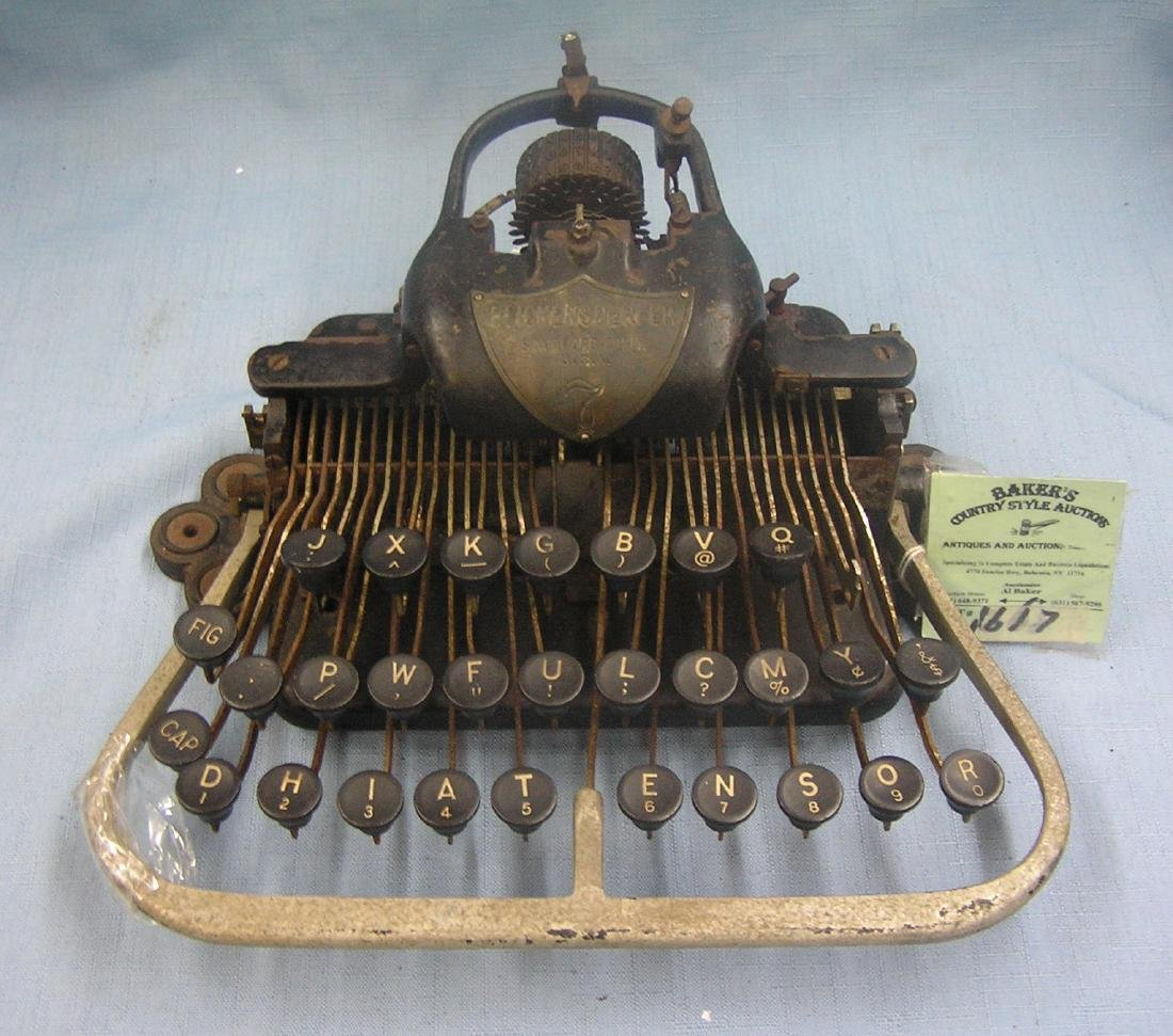 Antique Blickensderfer typewriter