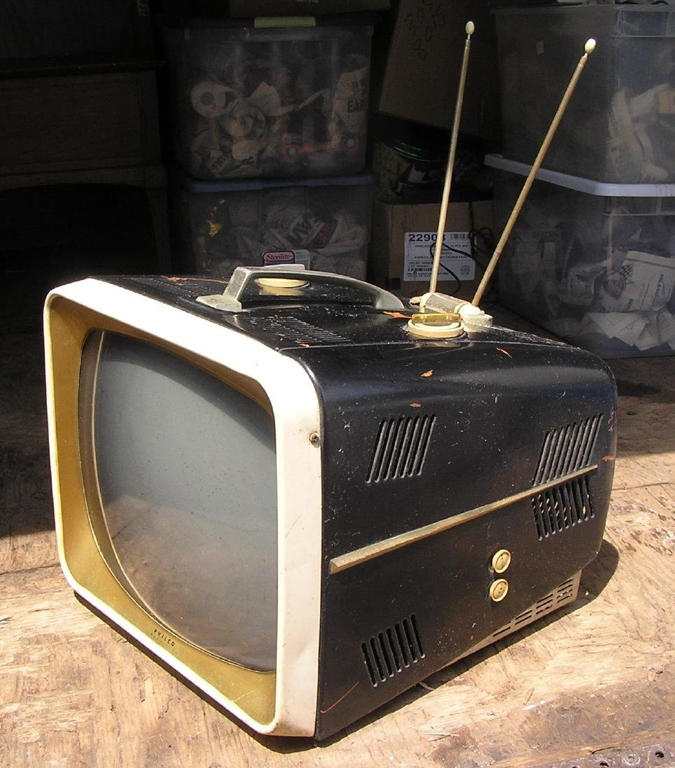 Antique Philco TV set - 2
