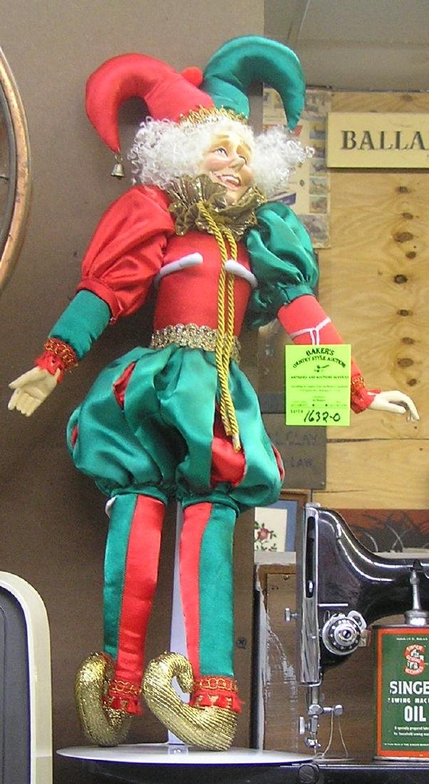 Large 22 inch Jester figure