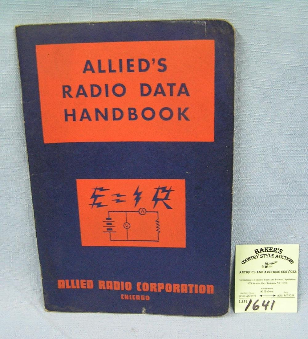 Allied Radio Data handbook
