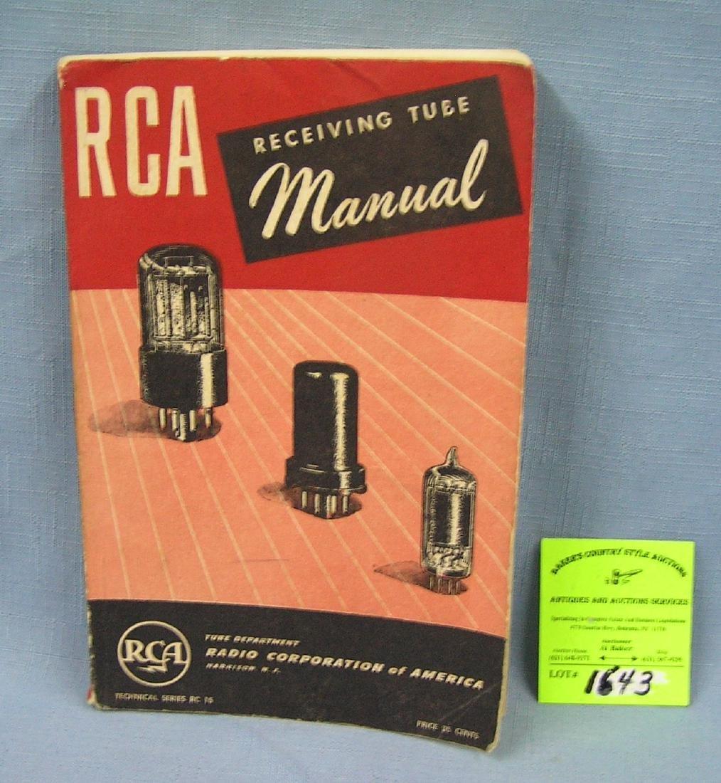 RCA receiving tube manual