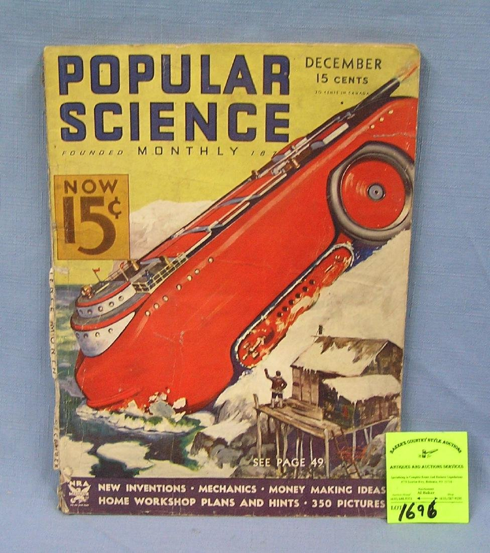 Early Popular Science magazine