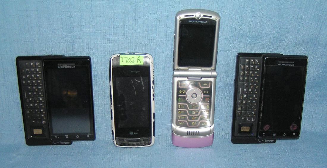 Group of quality cell phones