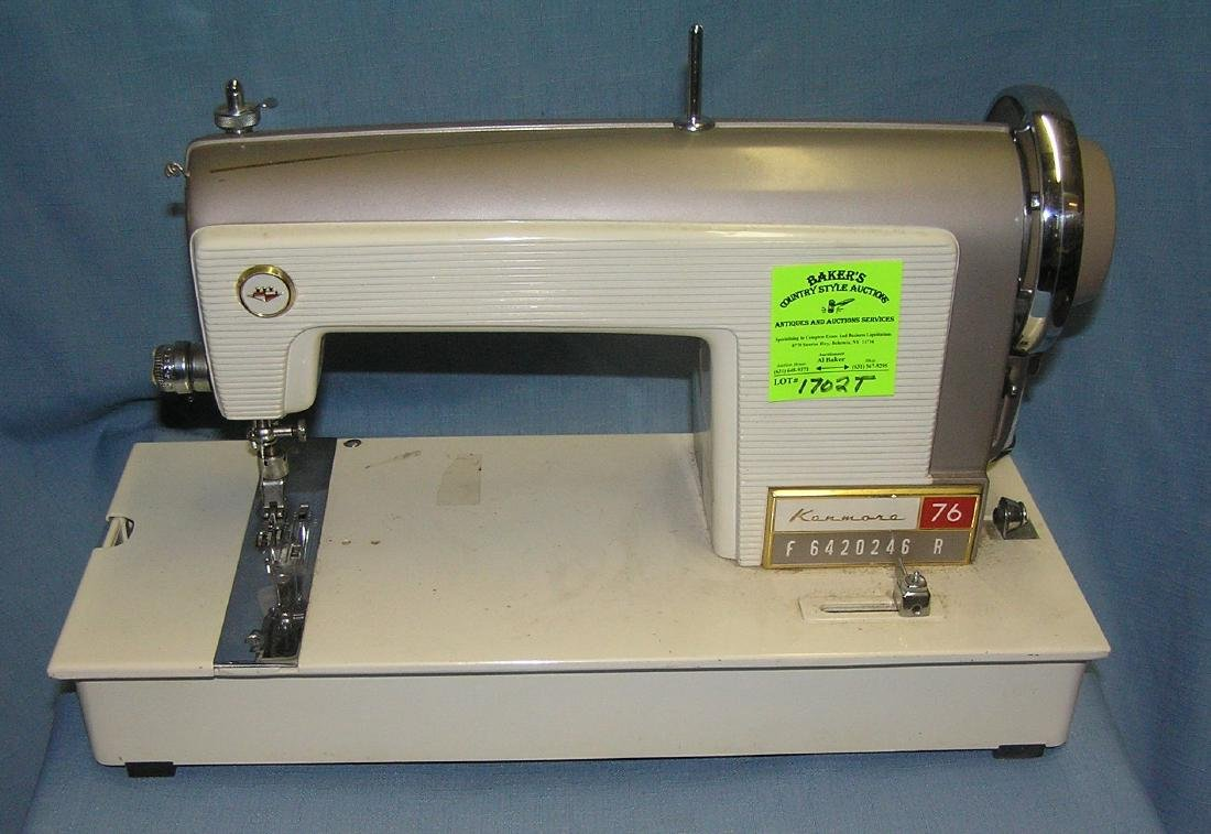 Kenmore 76 electric sewing machine