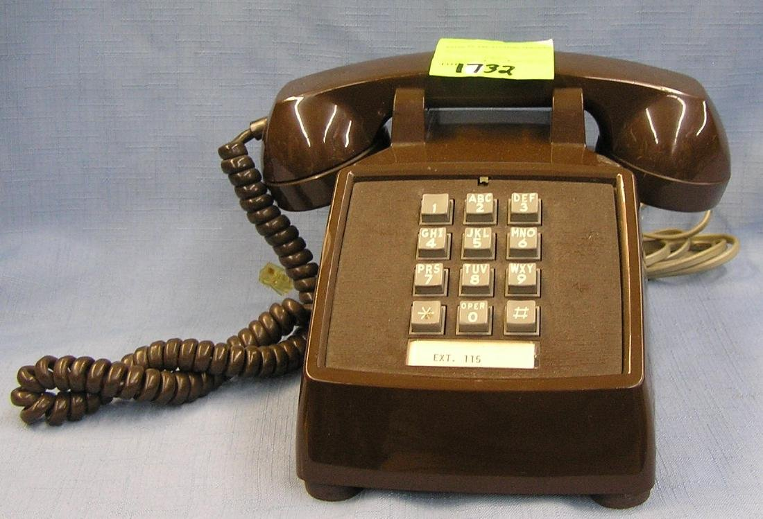 Vintage touch tone table top telephone