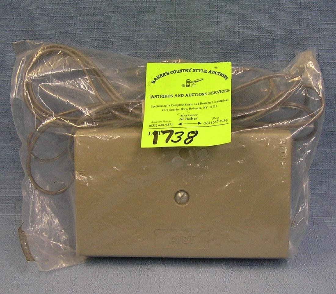 Vintage volume bell ringing sound device box
