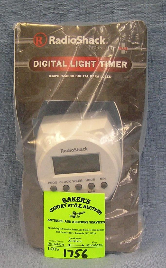 Radio Shack digital light timer