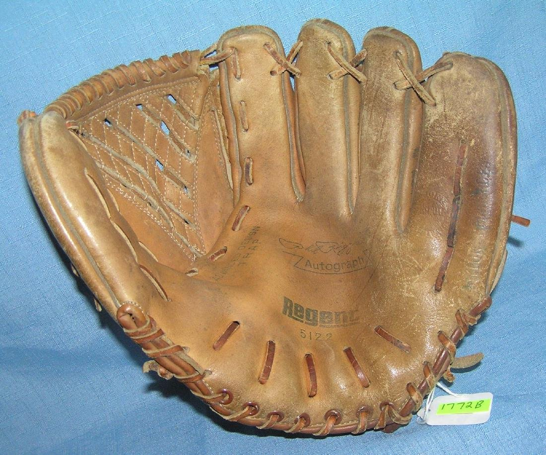Early Phil Rizzuto baseball glove circa 1950's