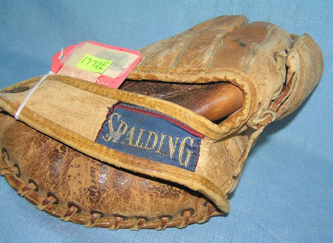 Wayne Causey autographed model baseball glove