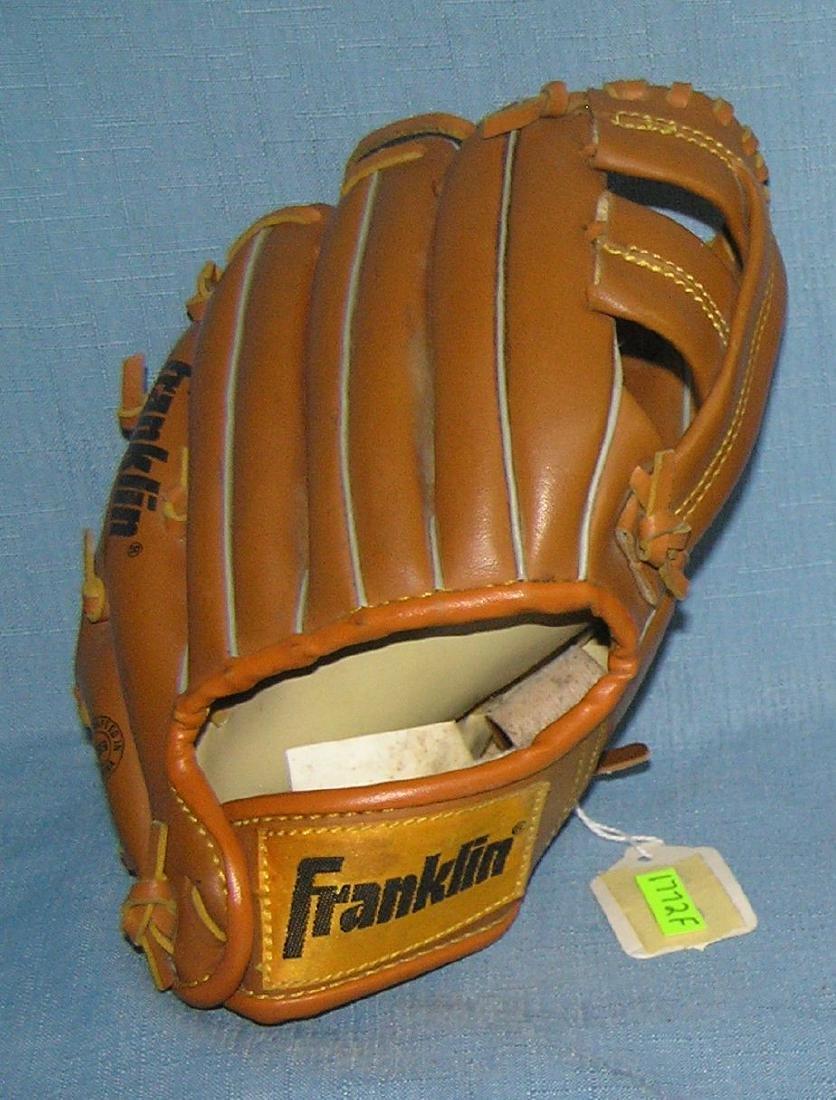 Pair of modern era baseball gloves - 2