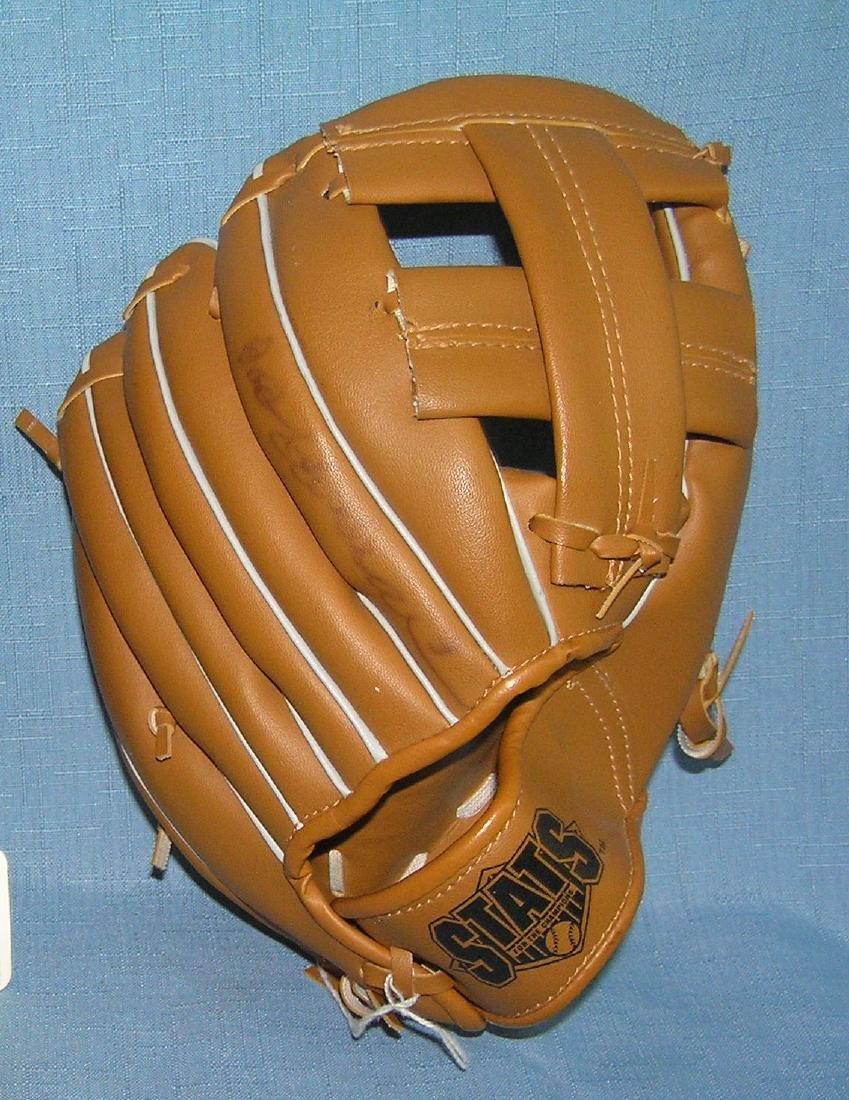 Pair of modern era baseball gloves - 3