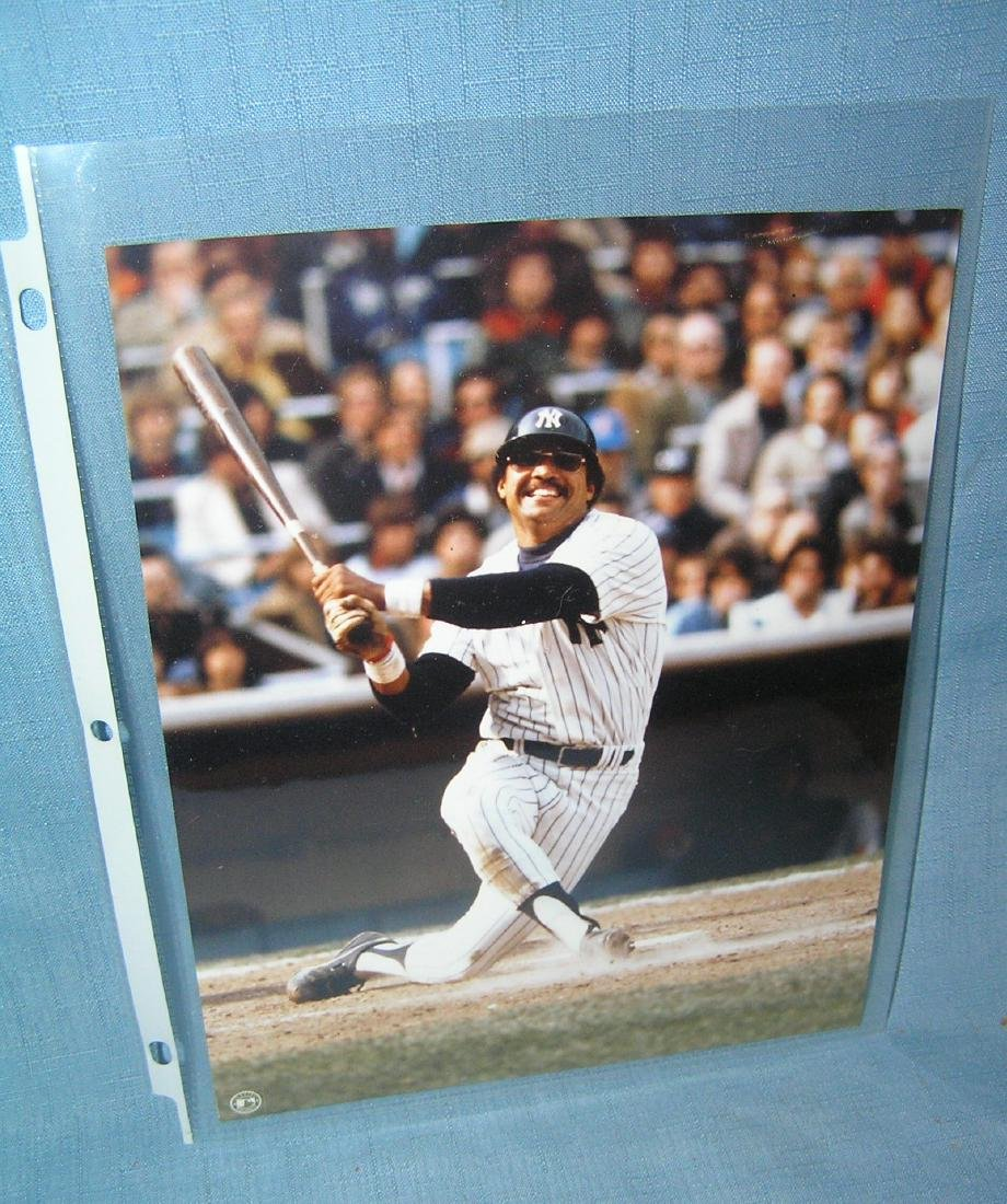 Reggie Jackson 8X10 color photo