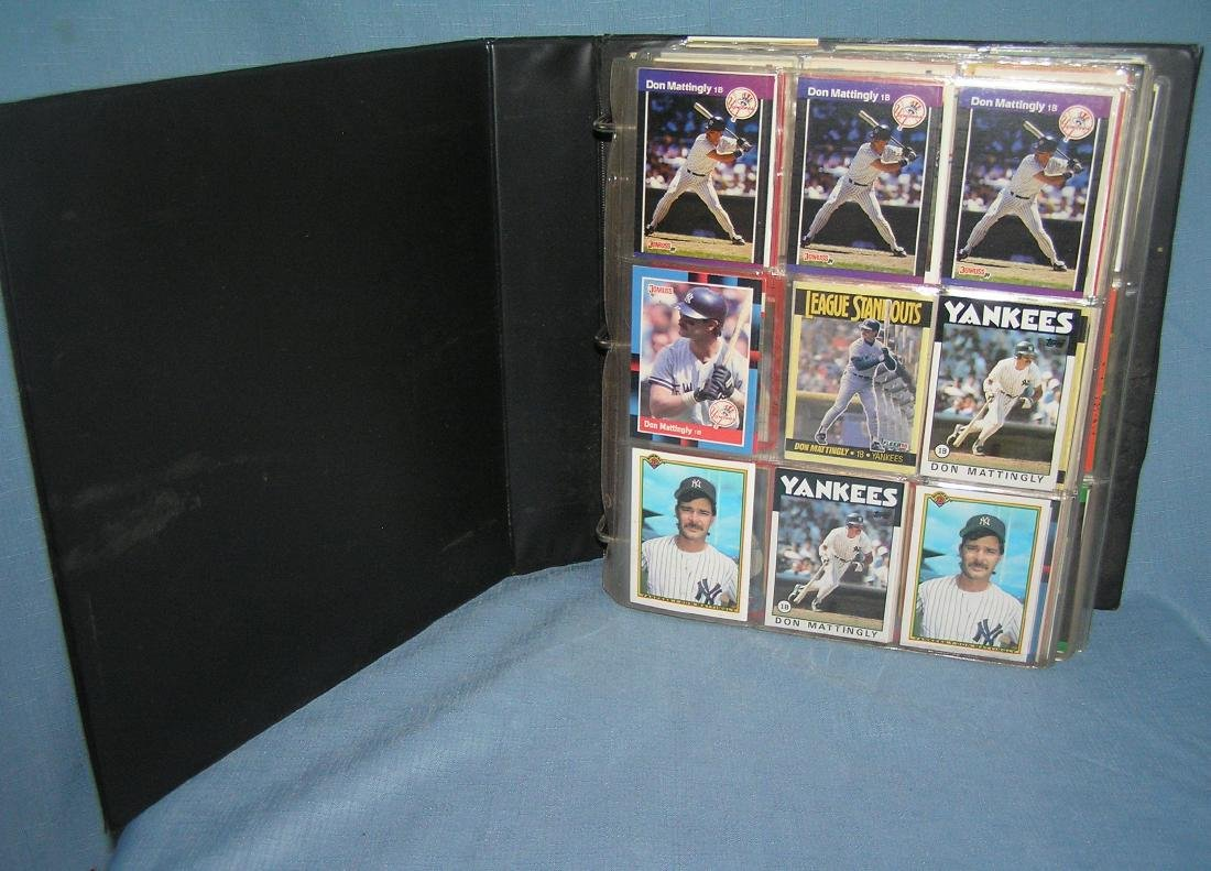Large group of vintage all star baseball cards