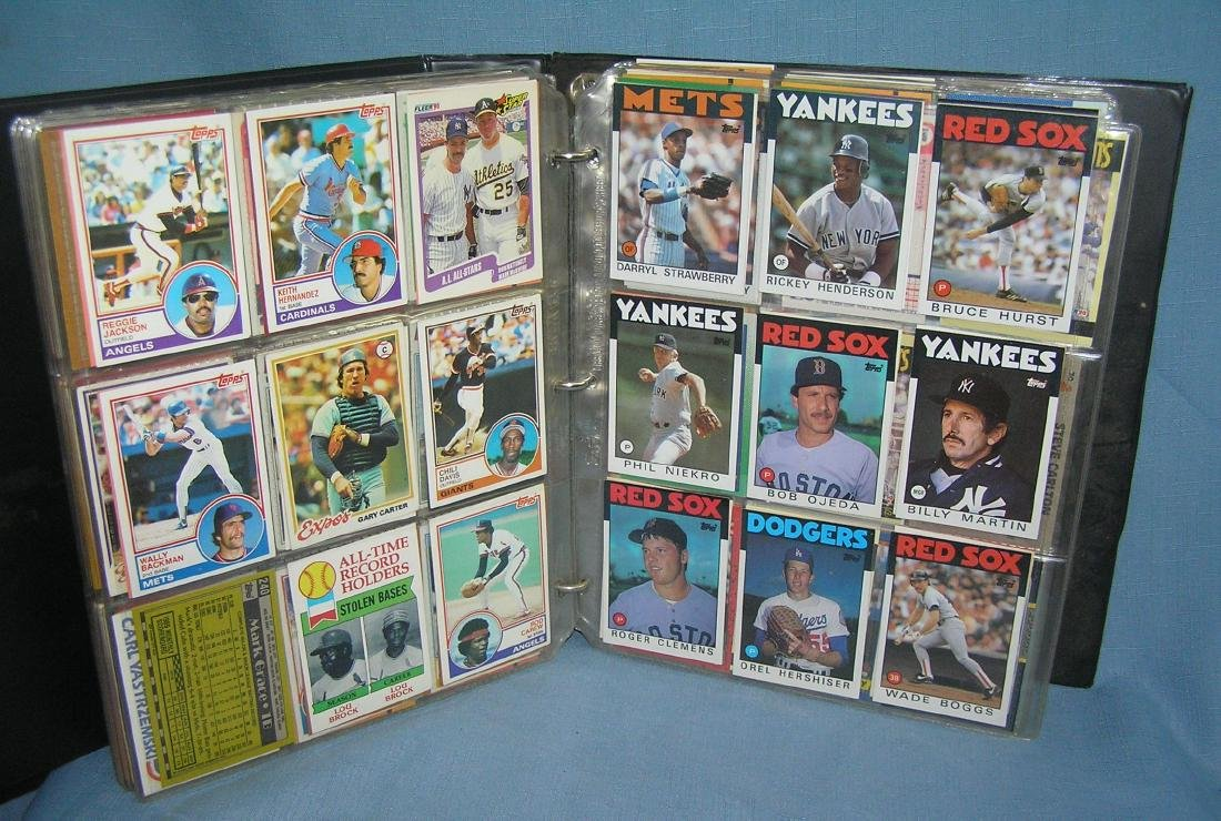 Large group of vintage all star baseball cards - 3