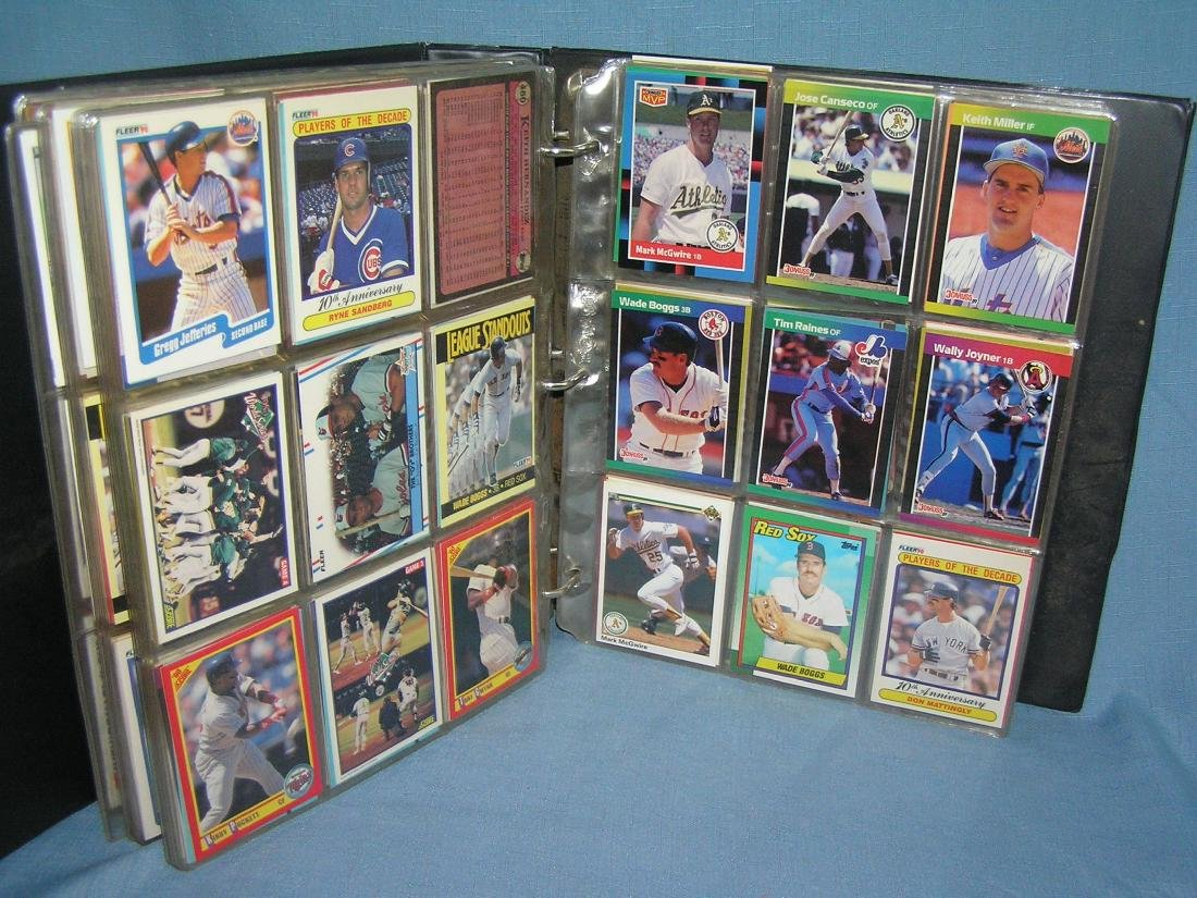 Large group of vintage all star baseball cards - 4