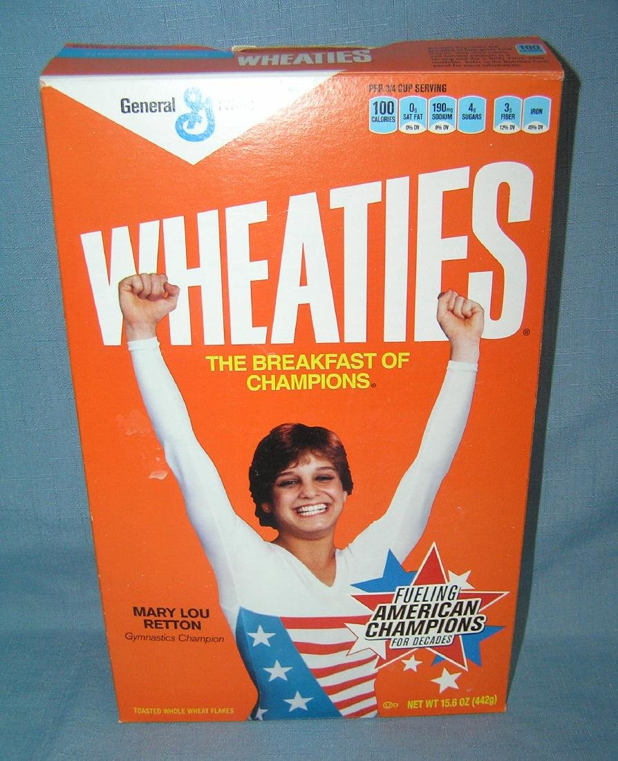 Mary Lou Retton Wheaties box