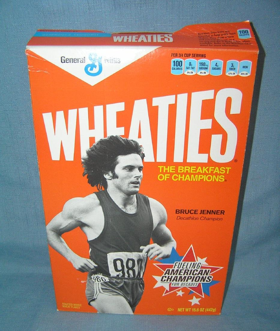 Bruce Jenner Wheaties box