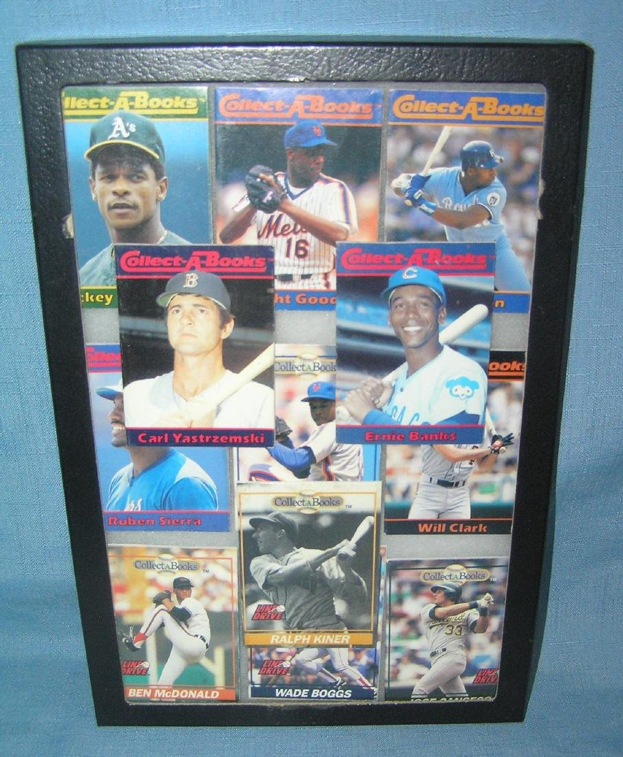 Group of baseball all star collector books